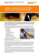 Application note:  Analyse compound semiconductors with the inVia™ Raman microscope