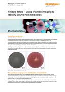 White paper:  Finding fakes – using Raman imaging to identify counterfeit medicines