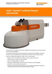 Product note:  inVia Qontor confocal Raman microscope
